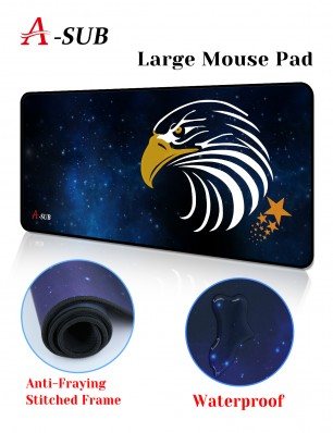 A-SUB Waterproof Large Computer Keyboard Mouse Pad 27.6×11.8×0.12 inche