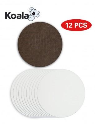"12pcs sublimation coaster blanks for Heat Transfer- 3.75"""