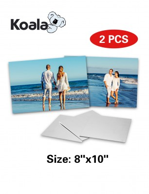 "Koala Sublimation Aluminum Blanks 8"" x 10"" 2 Pack"
