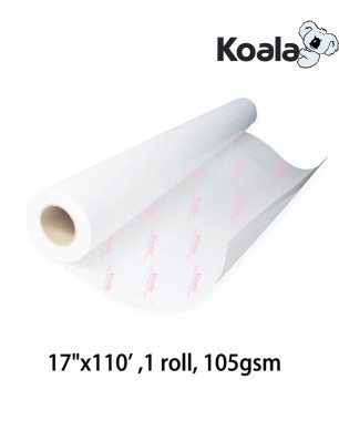 "Koala Sublimation Paper 17""x110', 105gsm roll size"