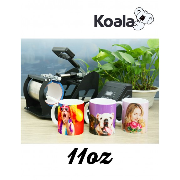 Koala Mug Cup Heat Press Machine