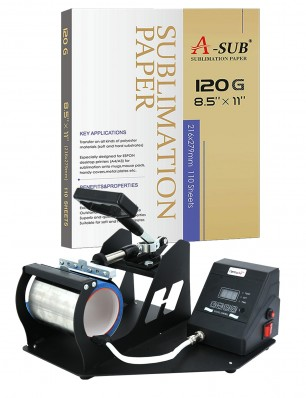 Mug Heat Press Machine Package for Any Inkjet Printer