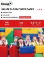 Koala High Glossy Photo Paper 8.5x11 Inch 230gsm 100 Sheets Used For All Inkjet Printers