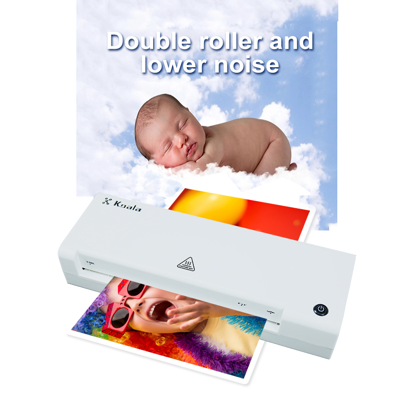 Hot & Cold Office Laminator for photo and documents laminated